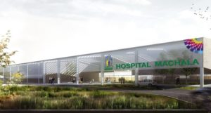 Project won for Hospital in Machala – Ecuador